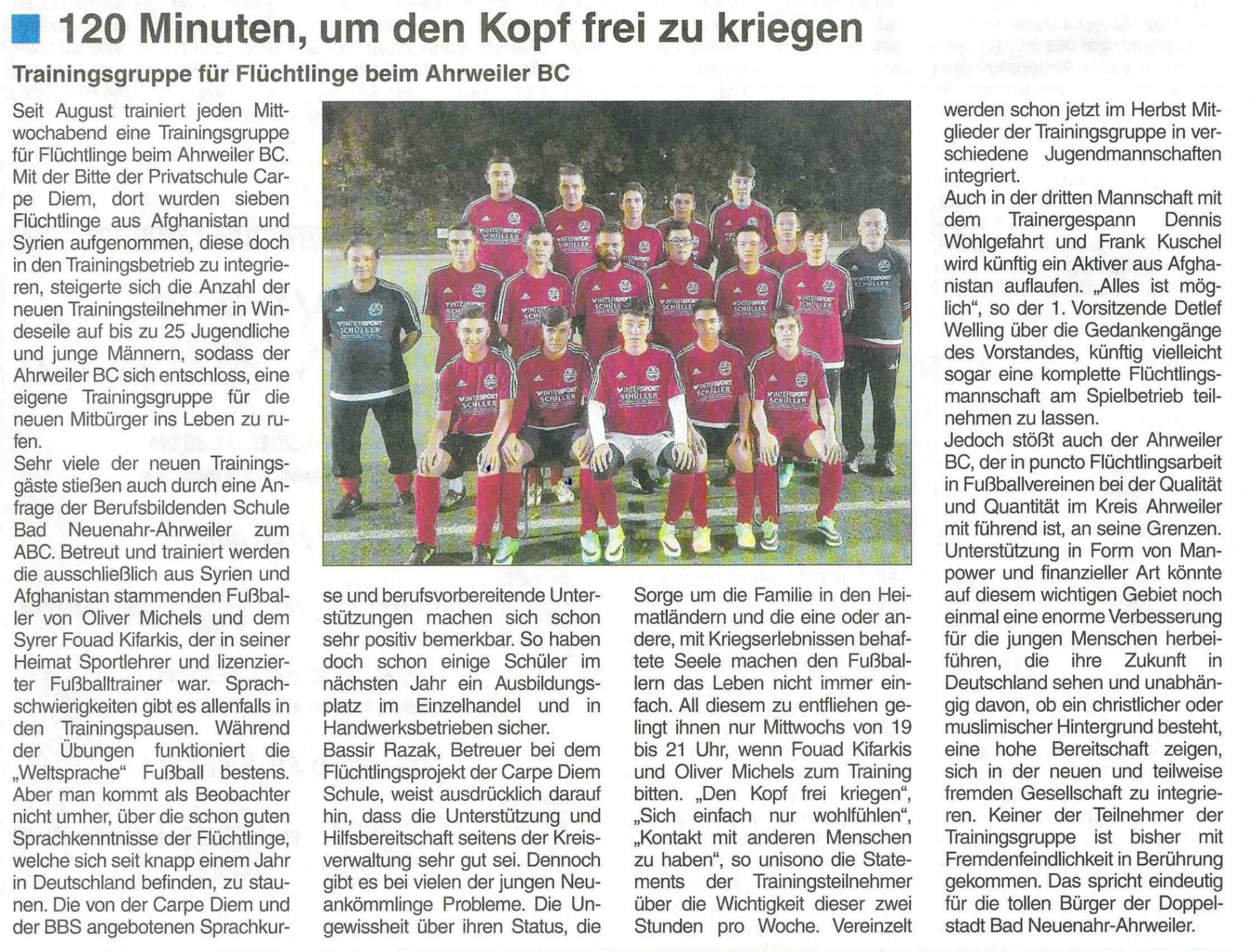 Stadtzeitung Flüchtlinge